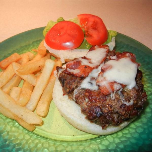 Receita de Hambúrguer do Amante da Carne
