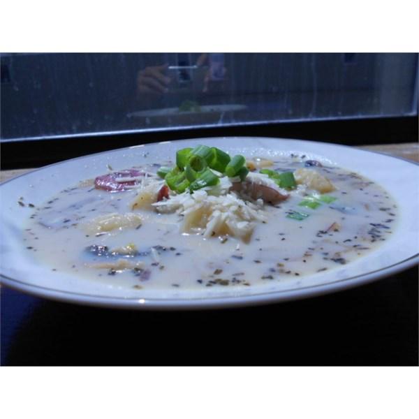 Receita de Sopa de Batata Doce Salgada Toscana