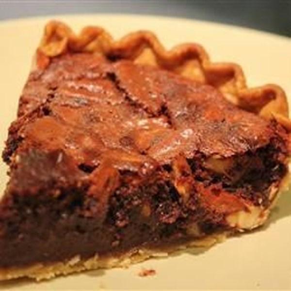 Receita de Torta de Café Expresso de Nozes e Chocolate