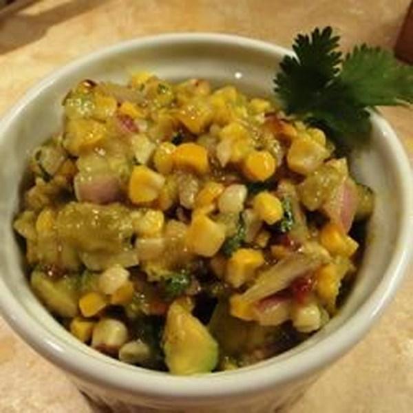 Milho Grelhado e Salada poblano com Receita de Vinagrete de Chipotle