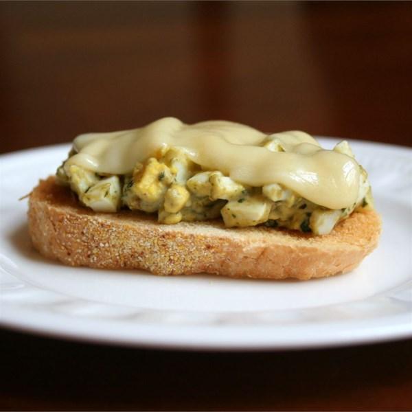 Receita de Sanduíche de Salada de Ovo Gourmet