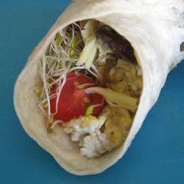 Receita de Burritos de Brunch deliciosos de Andi