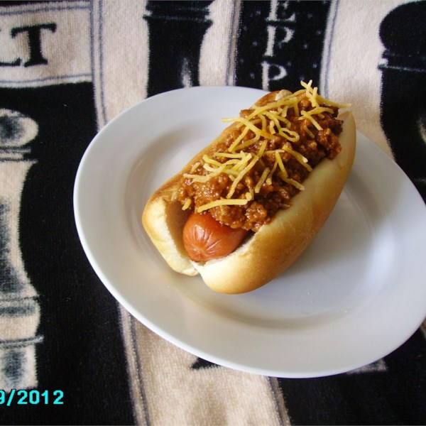 Receita de Chili de Cachorro Quente de Jeff