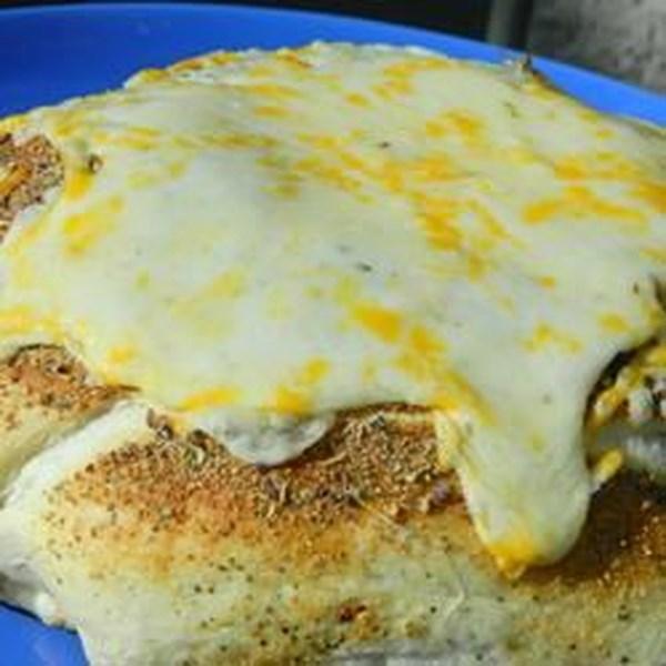 Receita de Cunhas de Pão Italiana Cheesy