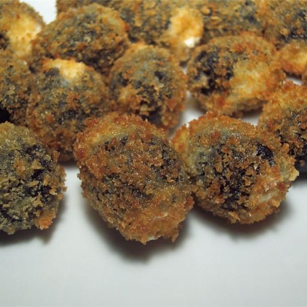 Receita de Azeitonas de Gorgonzola Frita