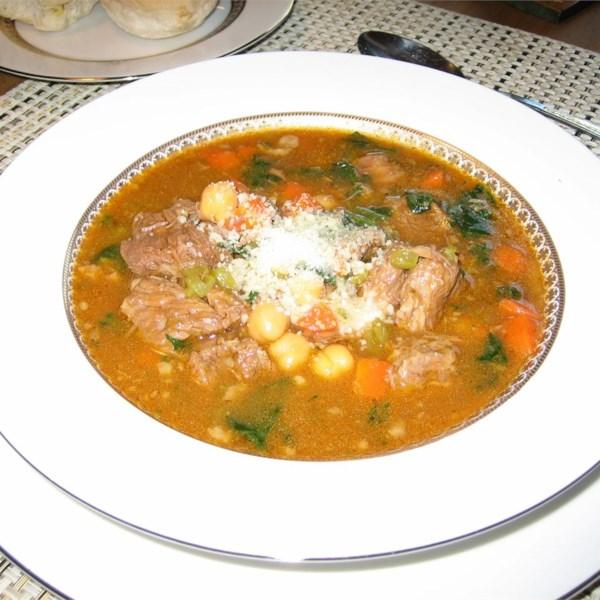 Receita de Minestrone Soup II
