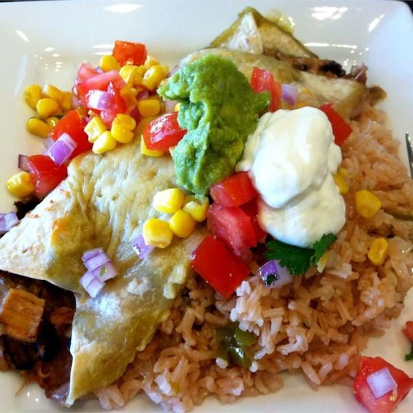 Receita fácil de Enchiladas de Frango