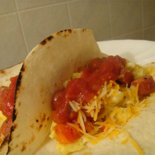 Receita de Burritos de Café da Manhã Easy Money