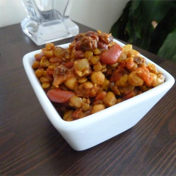 Receita de Curry de Feijão Vegetariano