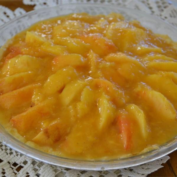 Receita de Torta de Pêssego Fresco I
