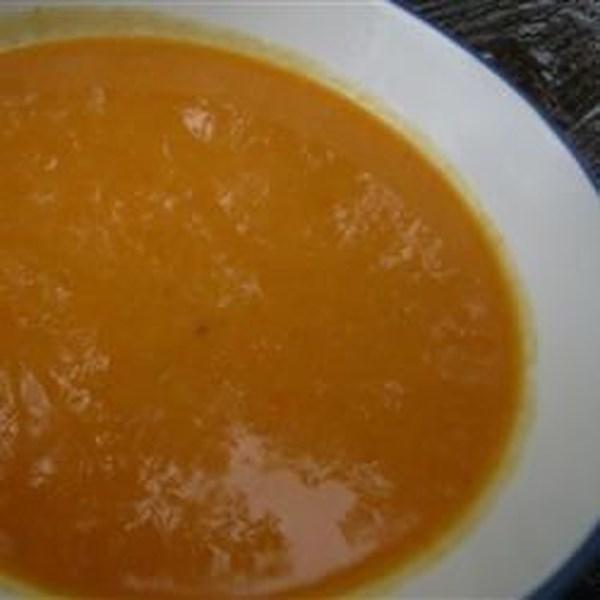 Receita de Creme de Panela de Pressão de Sopa de Cenoura