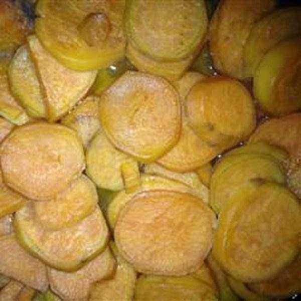 Receita de Batatas Doces do Kentucky Bourbon