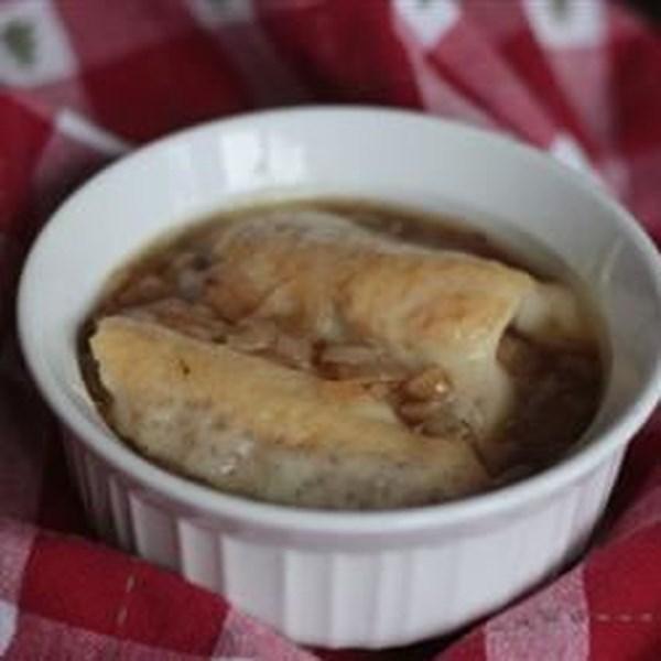 Sopa de Cebola Francesa com Receita de Vinho do Porto