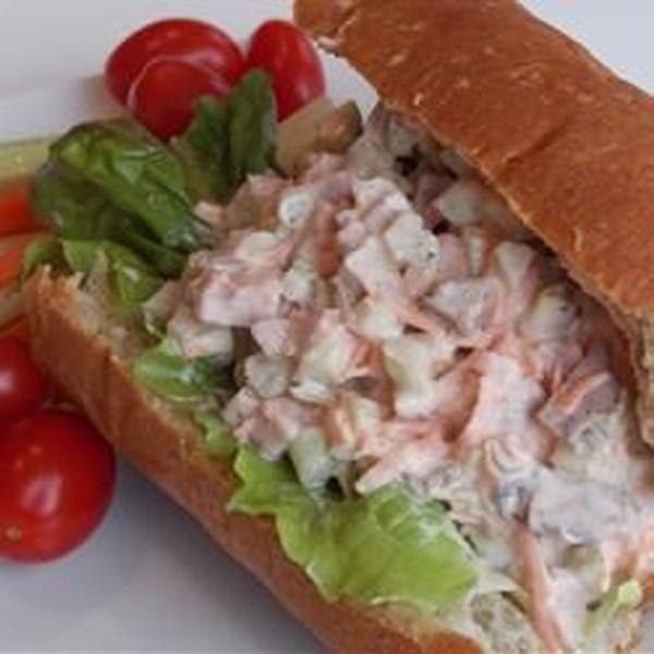 Receita de Recheio de Sanduíche de Salada de Carne