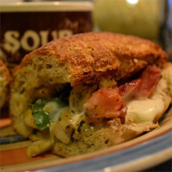 Receita de Sanduíche de Frango Com Bacon Jack