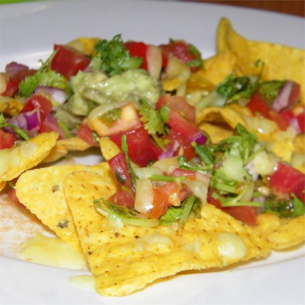 Receita clássica de nachos estilo pub