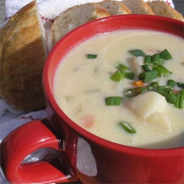 Deliciosa Receita de Presunto e Sopa de Batata