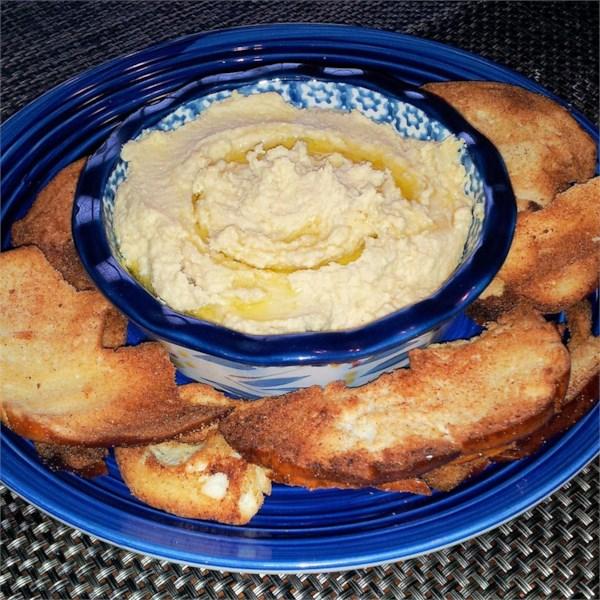 Receita tradicional de Hummus