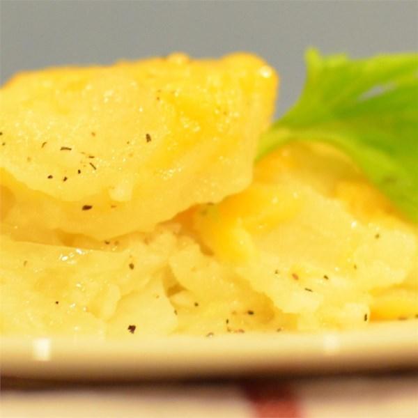 Receita de Batatas Cremosas Cremosas Mais Saudáveis