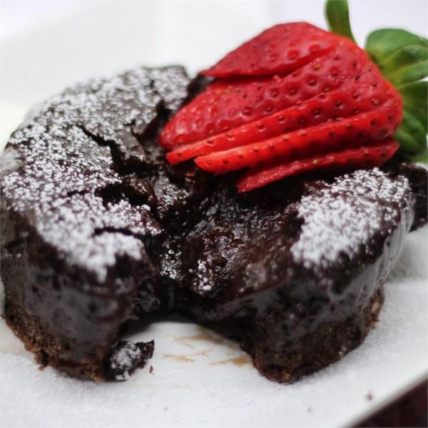 Receita de Bolo de Lava de Chocolate do Chef John