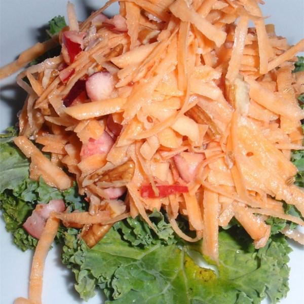 Receita de Salada de Inhame Crua
