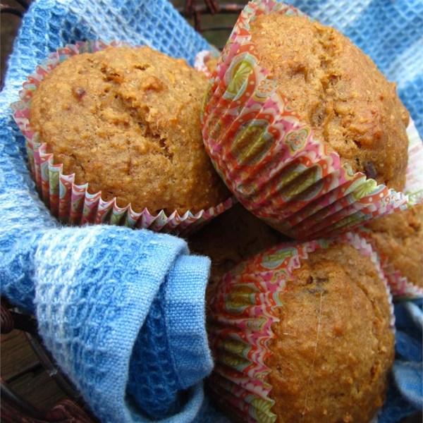 Receita de Muffins integrais saudáveis