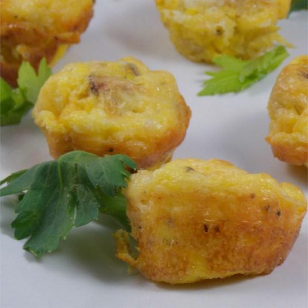 Receita de Mini Quiches de Batata e Chorizo