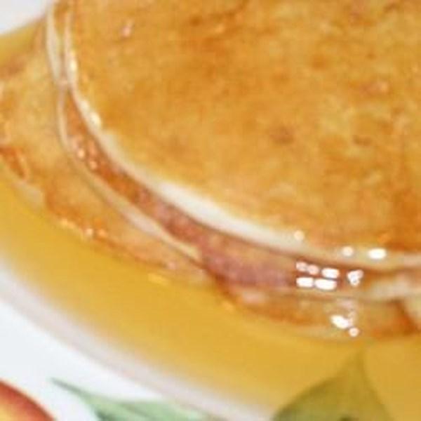 Receita de Panquecas de Café da Manhã de Ricota