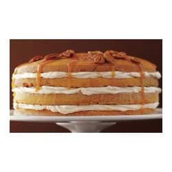 Receita de bolo de abóbora de quatro camadas deliciosa