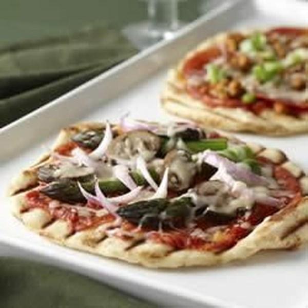 Receita de Pizza Grelhada