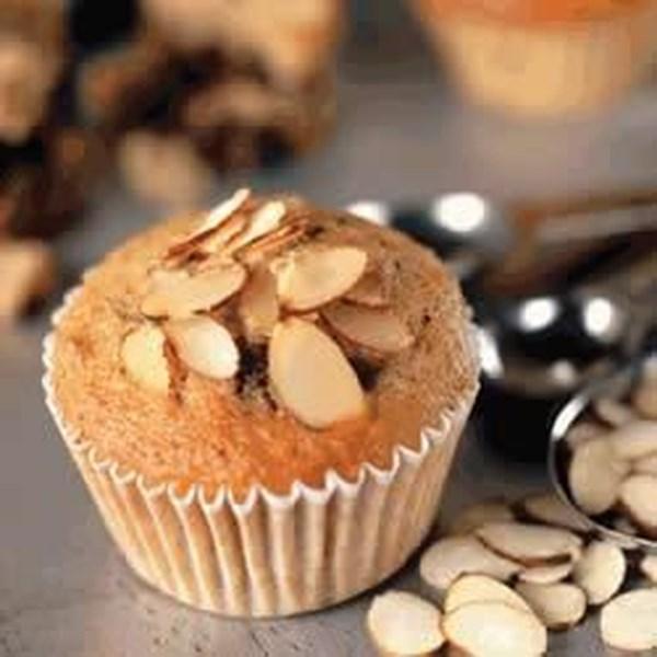 Receita de Muffins de Chocolate de Banana de Amêndoa