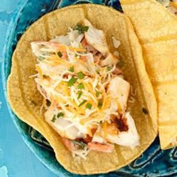 Tacos de Peixe Baja da Receita KRAFT(R)