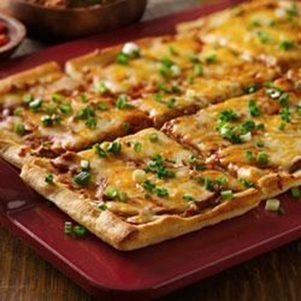 Receita de Pizza Mexicana Fácil