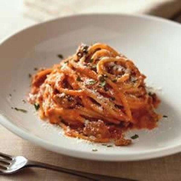 Receita de Espaguete à la Philly