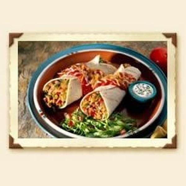 Receita de Queijo e Carne Enchiladas