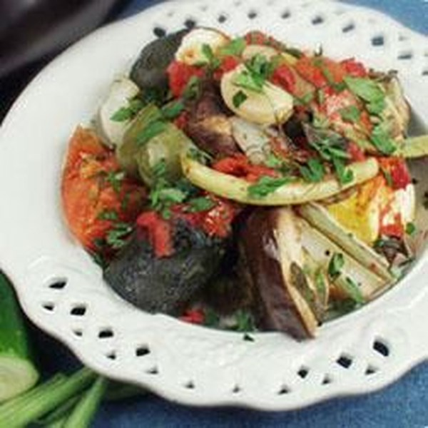 Receita de Caçarola Vegetariana 'Famosa' de Hariton