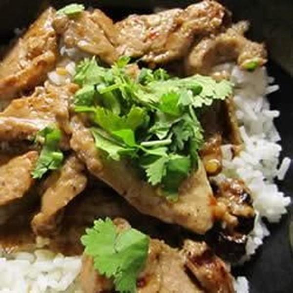 Receita de lombo de porco grelhado de estilo tailandês