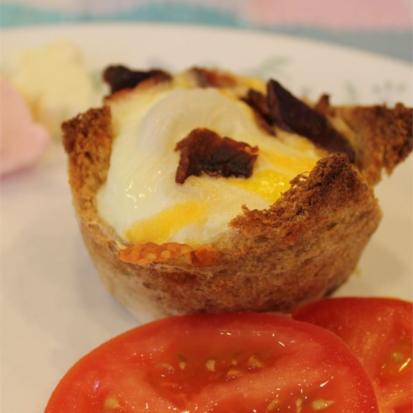 Receita de Muffins de Ovos Cozidos da Mamãe