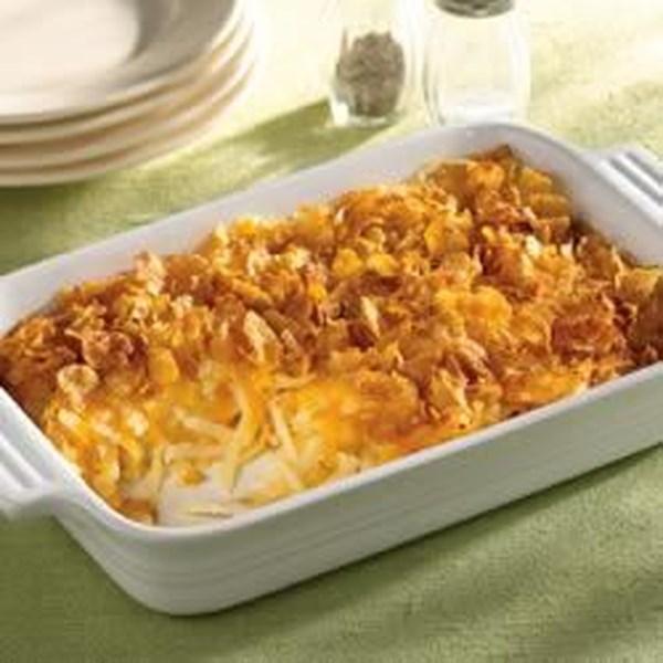 Receita simplesmente batatas(R) Cheesy Hash Browns