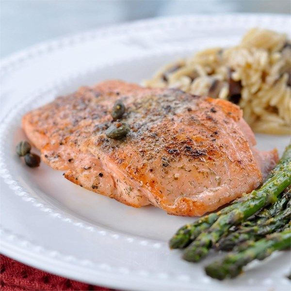Pan Seared Salmon I Receita