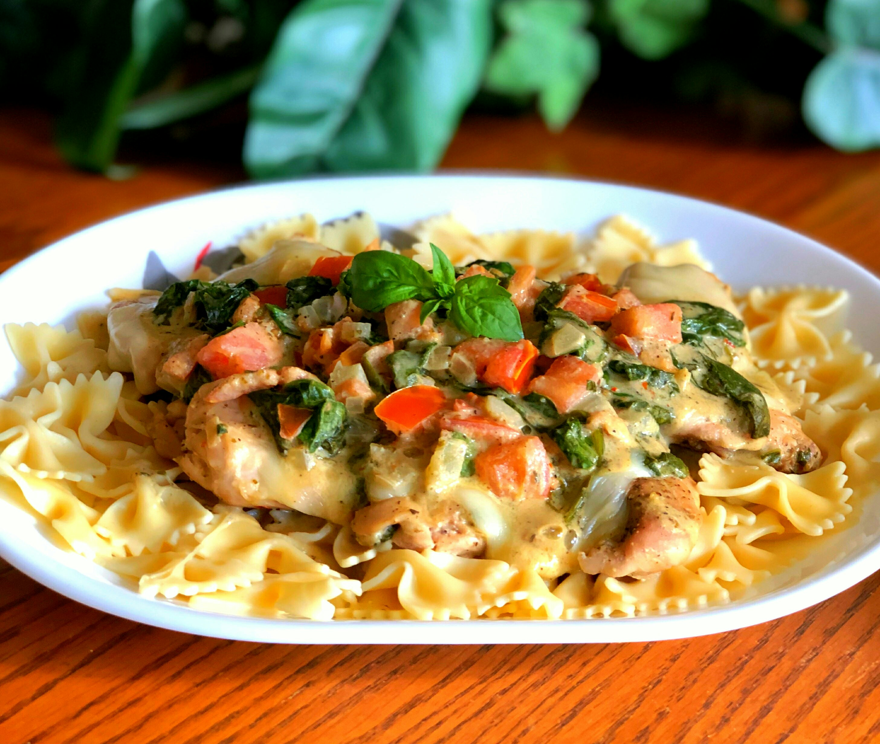 Receita italiana de coxas de frango assadas
