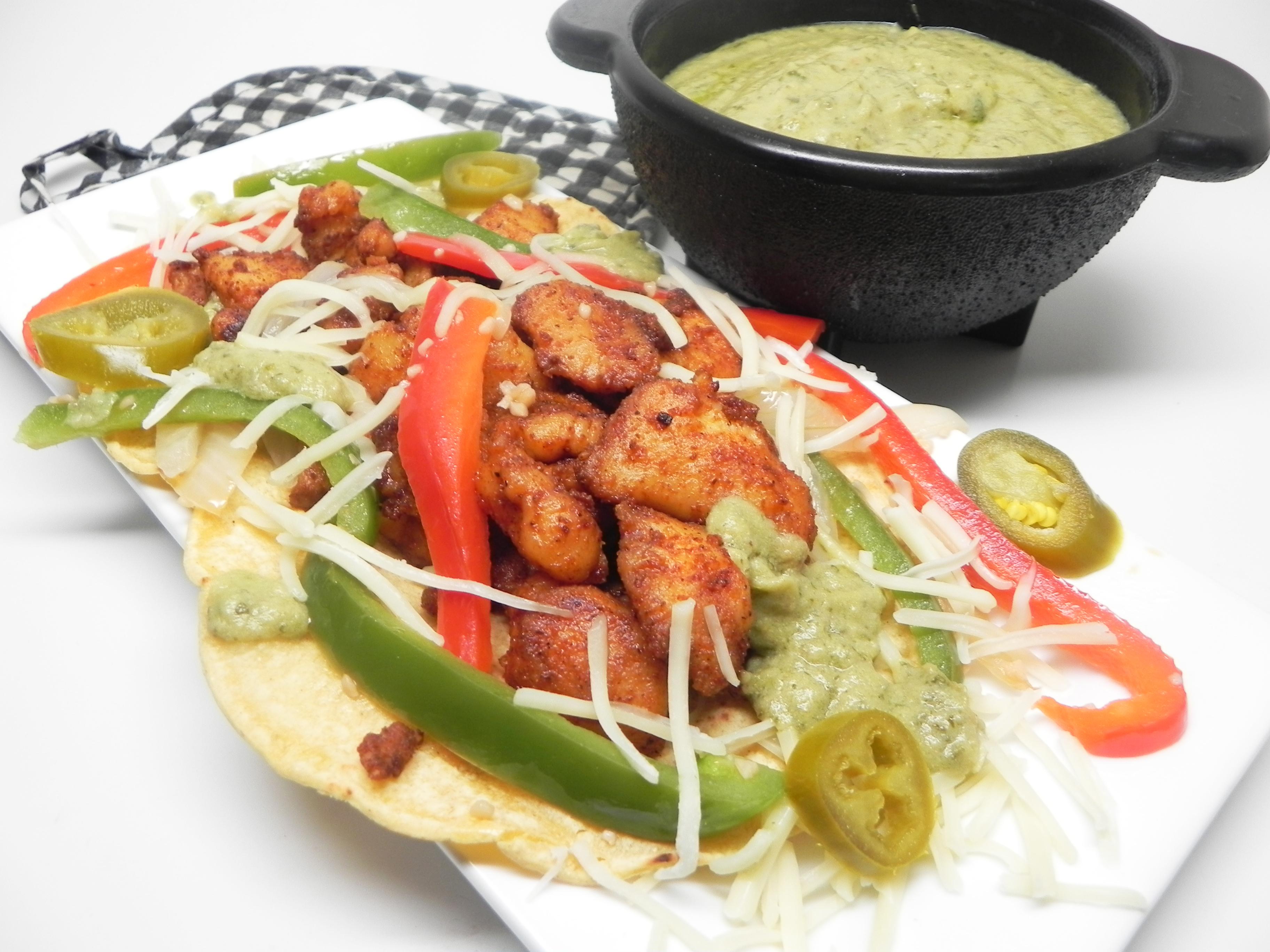 Receita de Tacos de Peixe Swai