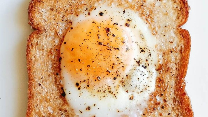 Image result for egg in a hole recipe