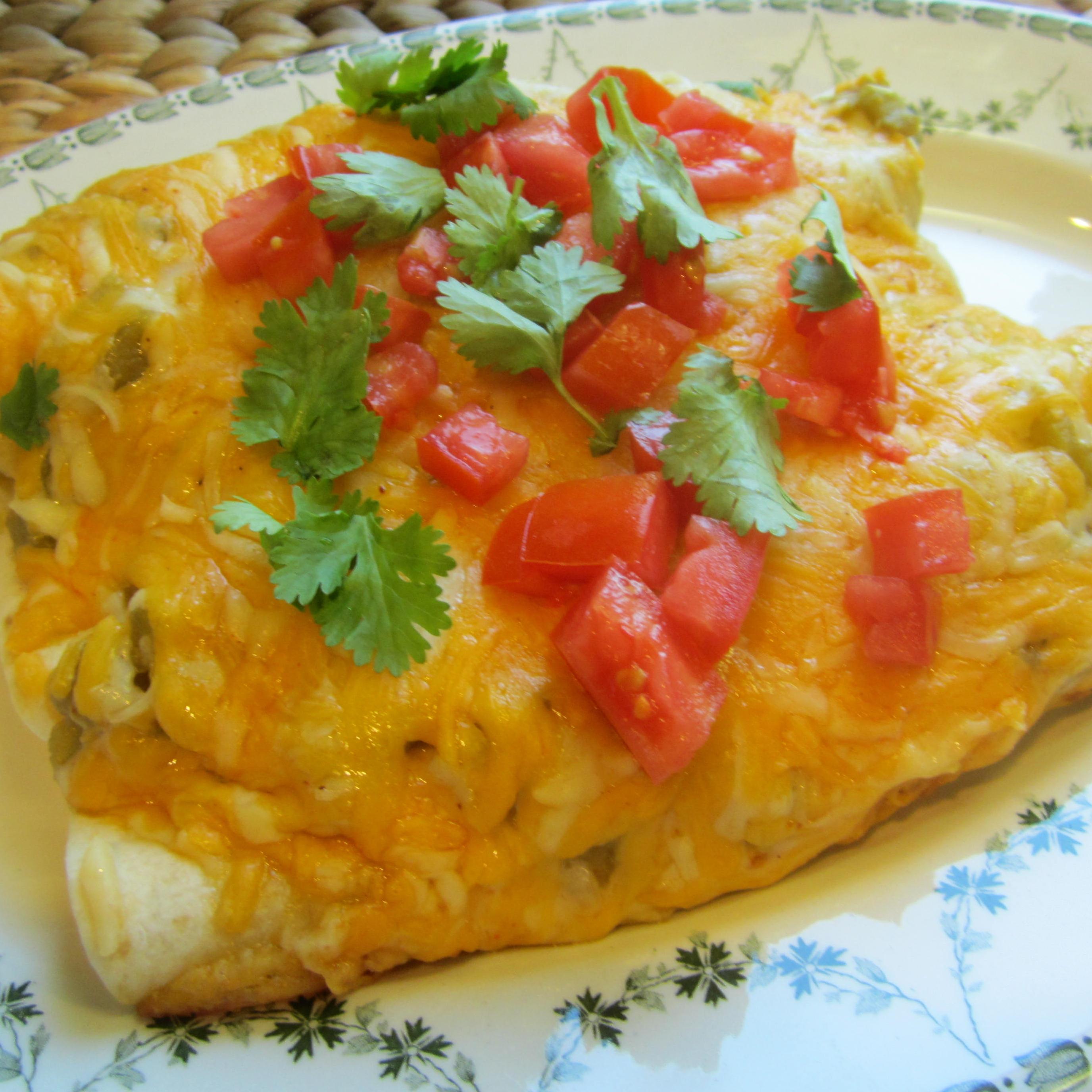 Receita encantada de frango com creme de leite Enchiladas