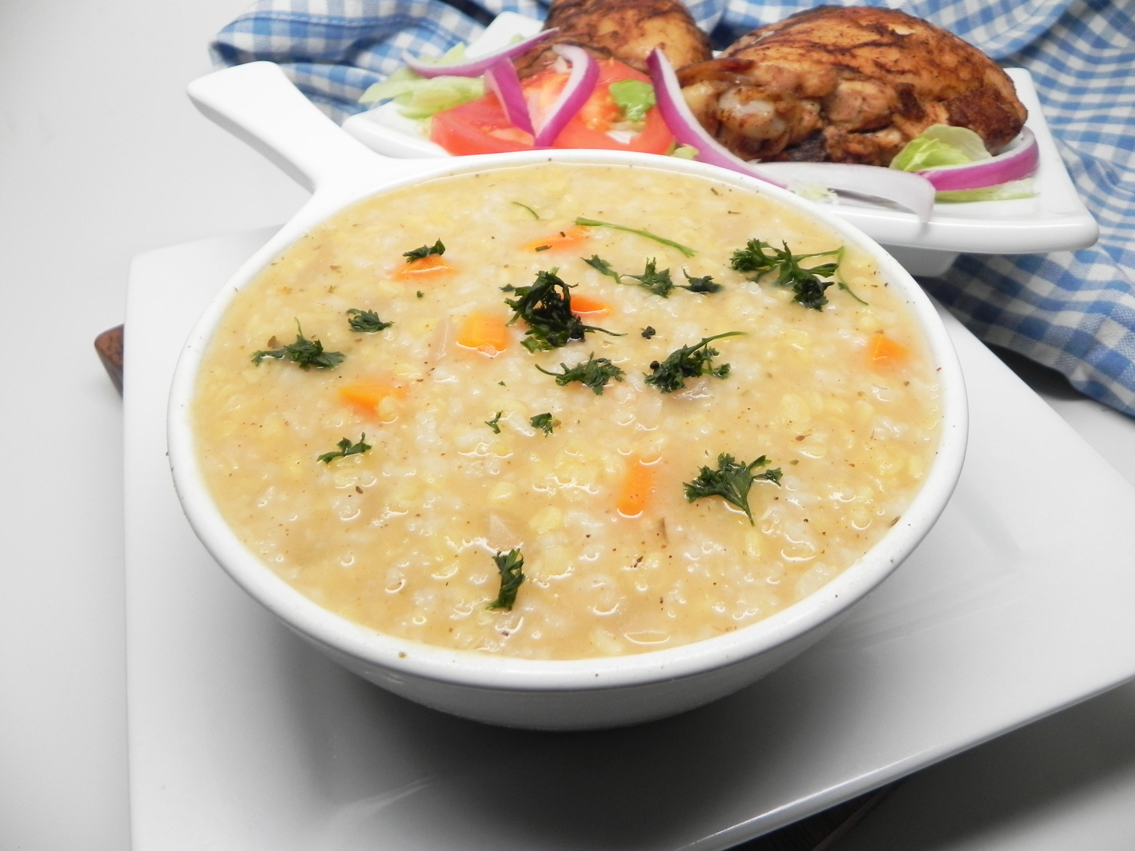 Receita de Sopa de Sopa de ® Panela Instantânea e Arroz