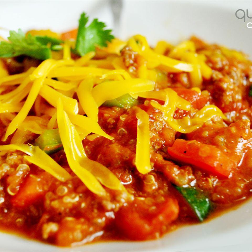 Receita de Pimentão de Quinoa