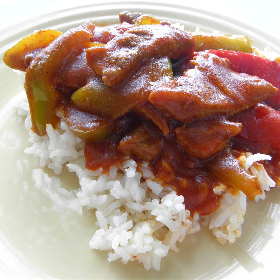 Receita de Bife Redondo de Pimenta Chinesa