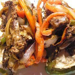 Receita de Sanduíche de Bife Siciliano