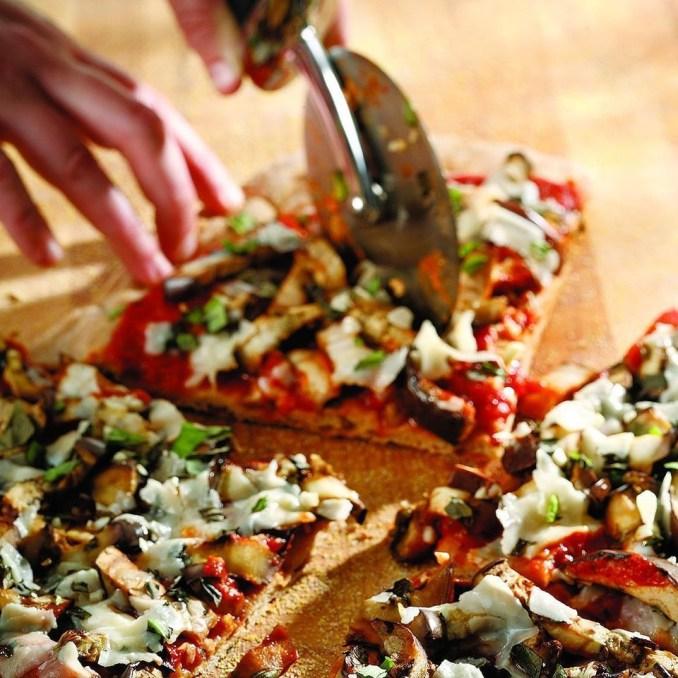 Eggplant Parmesan Pizza Recipe - EatingWell