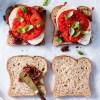 Tomato & Smoked Mozzarella Sandwiches